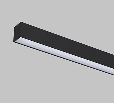 Lightline LED 60 Surface / Pendant - Microprism
